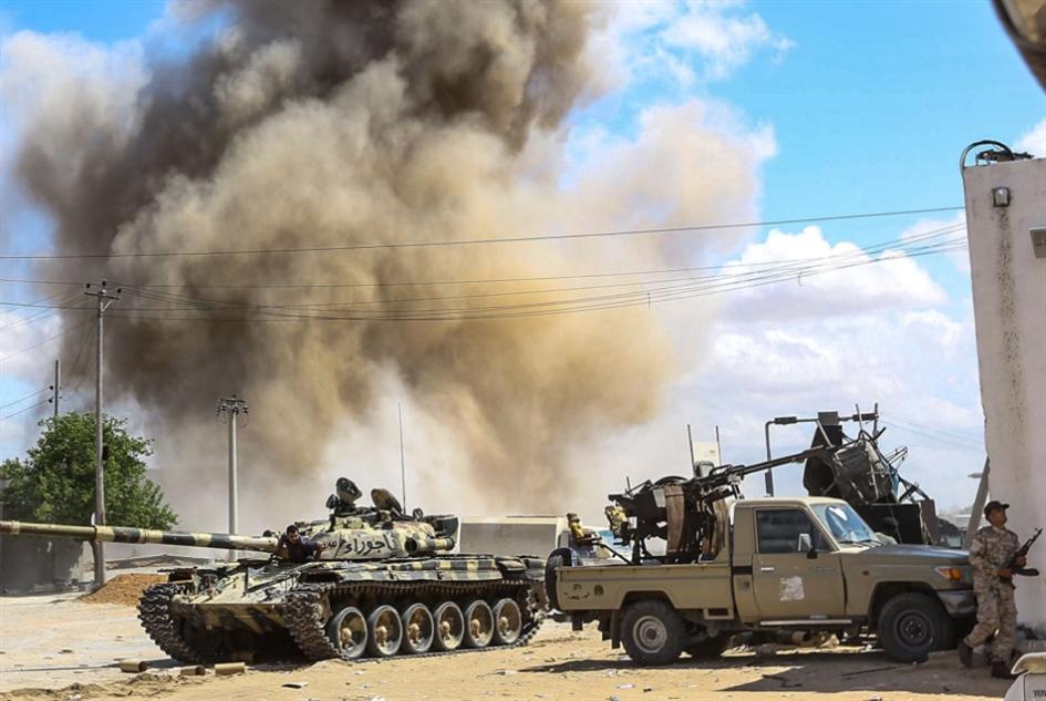 هجوم طرابلس يزداد تعثراً: حفتر في القاهرة لاستطلاع الدعم