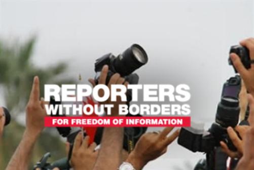 مراسلون بلا حدود: تقرير مسيّس؟