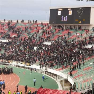 شغب في الدوري المغربي