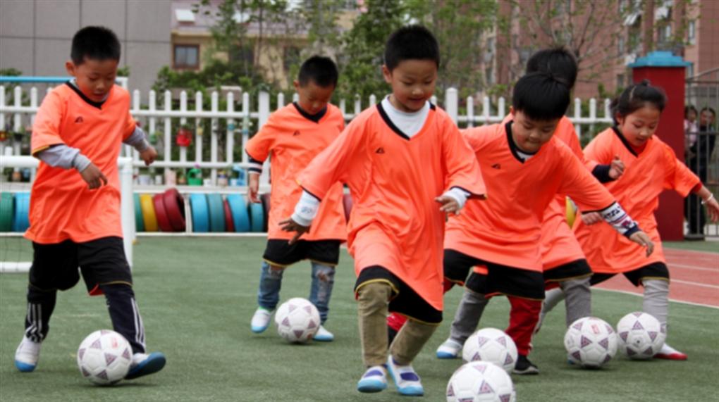 صورة مشروع كروي صيني يبدأ من رياض الأطفال