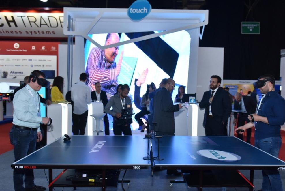 عرض تجريبي لتقنية 5G من «تاتش»