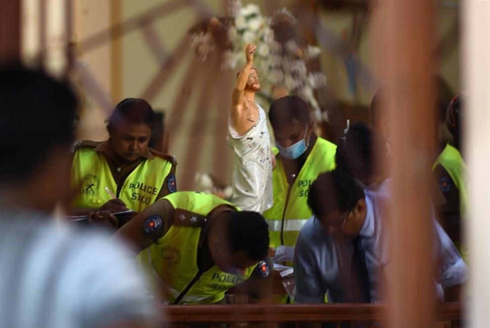 أكبر هجوم منذ عقد: «الإرهاب» يفتك بكنائس سريلانكا