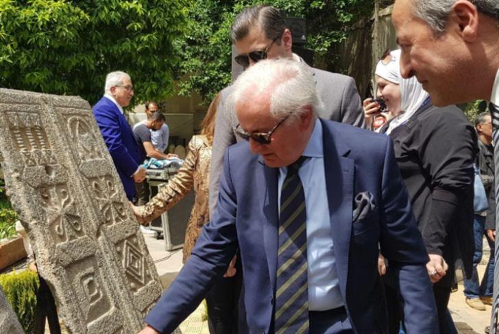 دمشق تستعيد قطعتَين أثريّتَين من مزاد في إيطاليا