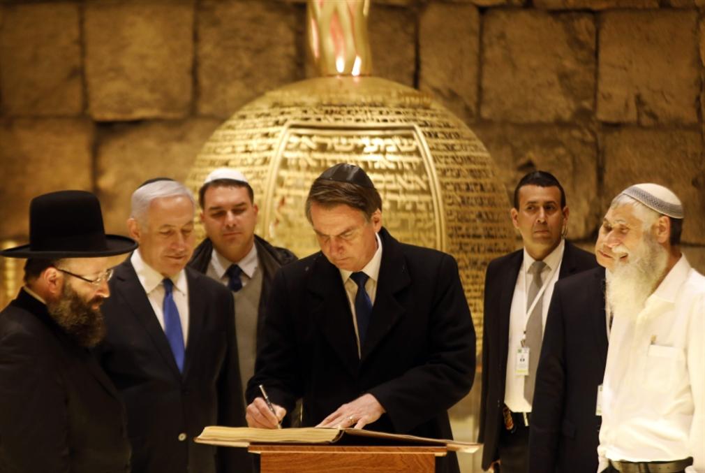 البرازيل تتمرّد على بولسنارو: لا للارتماء في الحضن الإسرائيلي