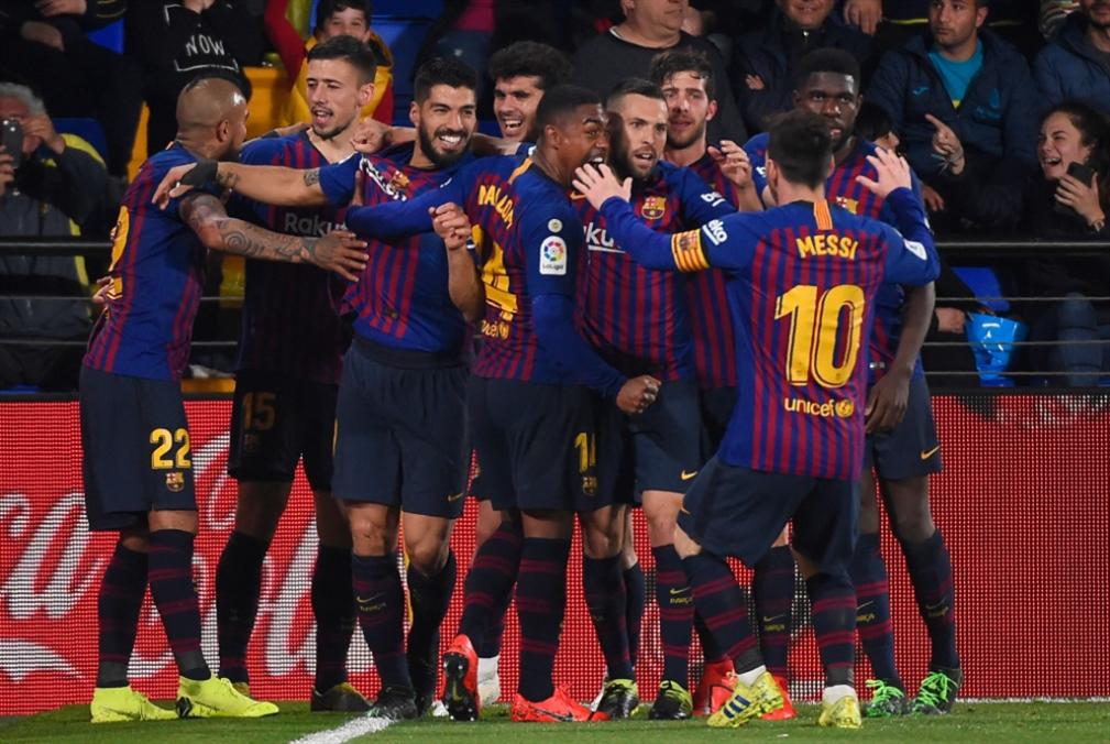 برشلونة x أتلتيكو مدريد