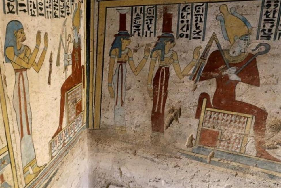 مصر: مقبرة من العصر البطلمي