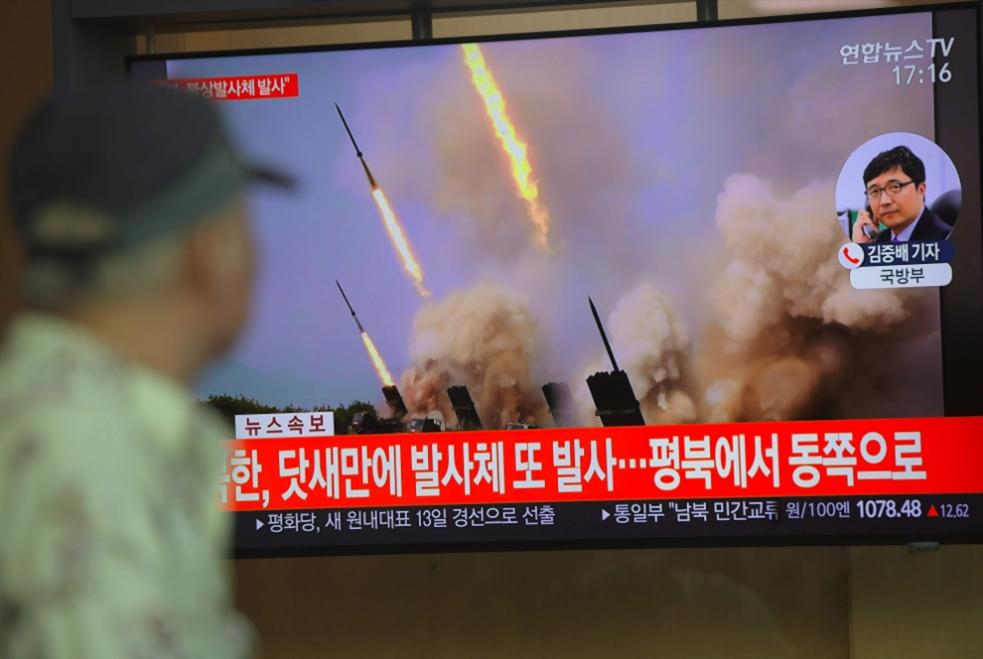 بيونغ يانغ تستقبل موفد واشنطن بصاروخين!