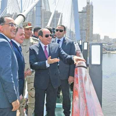 السيسي يُدخل مصر «غينيس» بـ«أعرض جسر في العالم»