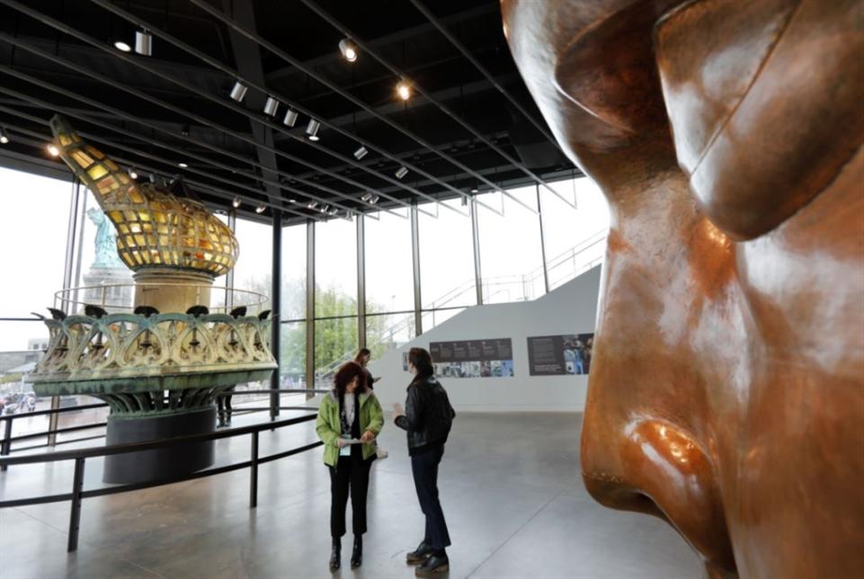 نيويورك: افتتاح متحف لتمثال الحرية