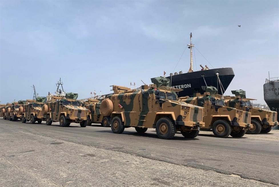 ليبيا | تركيا تنهي التحفظ: شحنة أسلحة أولى إلى «الوفاق»