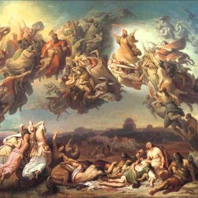 لوحة «معركة الهون» في النص الماركسي المؤسس: الدلالات الفكرية