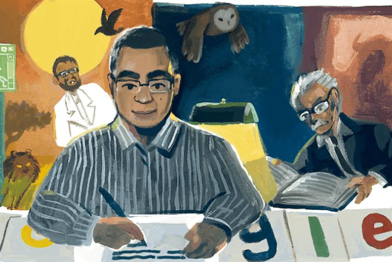 «غوغل» يحتفل بميلاد أحمد خالد توفيق