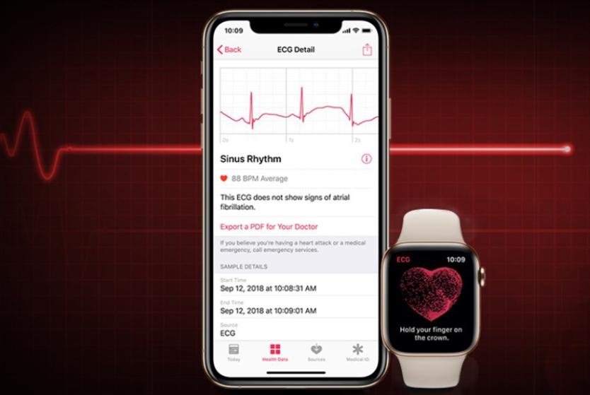 ساعة Iwatch قد تنقذ حياتك