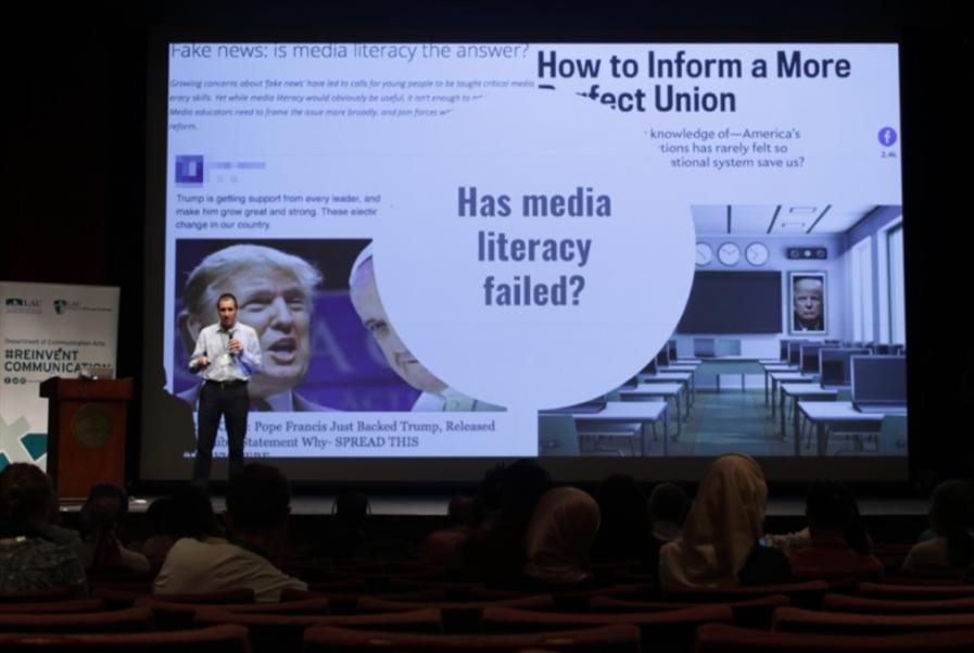 «أكاديمية التربية الإعلامية والرقمية» تنطلق في LAU