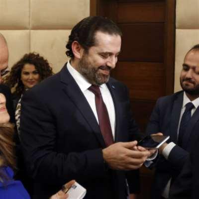 الرؤساء السابقون للحكومة  نحو مصارحة الحريري