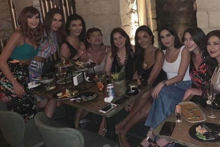 الممثلات اللبنانيات معاً: «سمن على عسل»