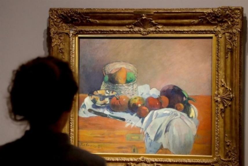 80 ألف يورو لرسم غوغان الأول