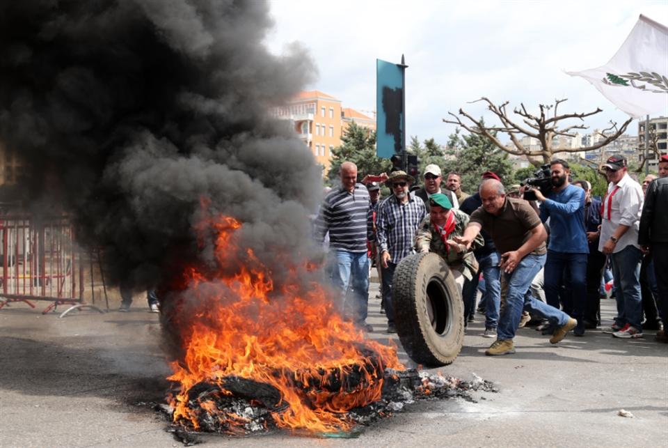العسكريون المتقاعدون: سنحاصر بيروت غداً !