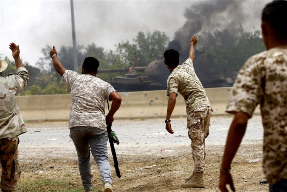 ليبيا   «الوفاق» تستعيد غريان: حفتر يخسر بوابة العبور إلى طربلس