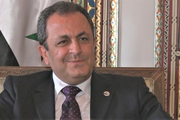 أيمن علّوش: القائم بأعمال السفارة السورية لدى عمّان