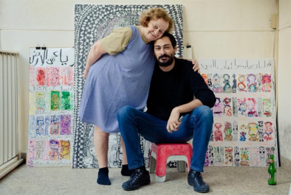 بين لور ومازن أبجدية الفن والحبّ