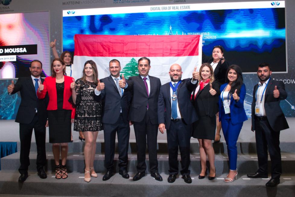 لبناني رئيساً للإتحاد العقاري الدولي