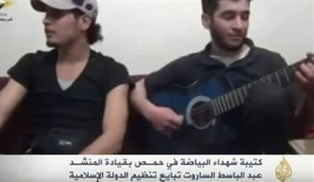 عبد الباسط الساروت يبايع «داعش» على «الجزيرة»