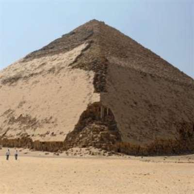 مصر: افتتاح الهرم المنحني للملك سنفرو للزائرين