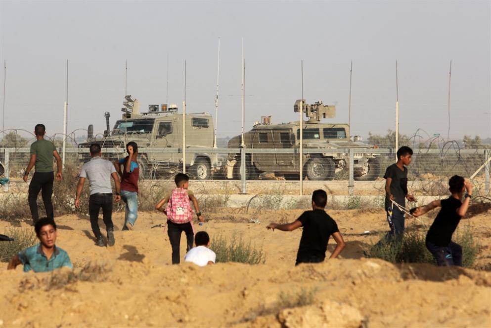 العدو يحصّن حدوده مع غزة بزرع الأشجار