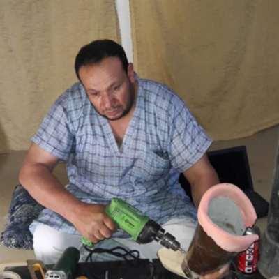 «الدكتور» أبو موفق: أطراف اصطناعية بتكلفة 10 دولارات!