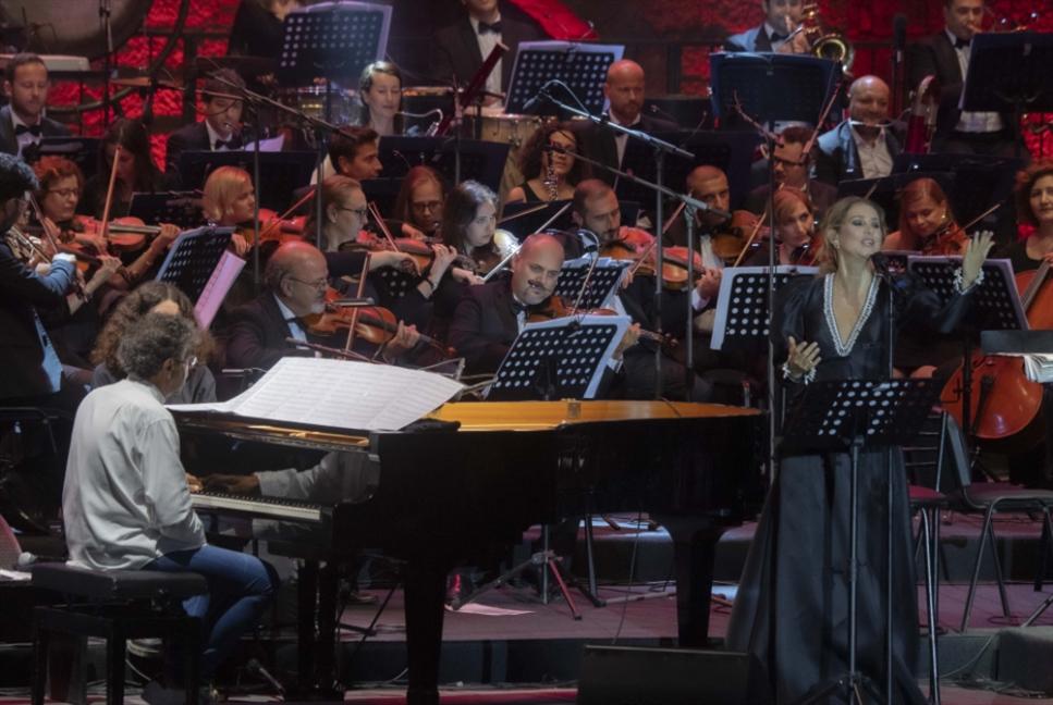 افتتاح الدورة 35 من «مهرجانات بيت الدين الدولية»: أسمهان وحفيدتها برعاية «الملاك» غابريال
