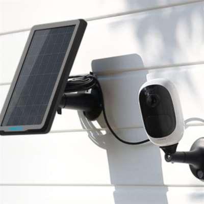 Argus 2 كاميرا مراقبة ذكية على الطاقة الشمسية
