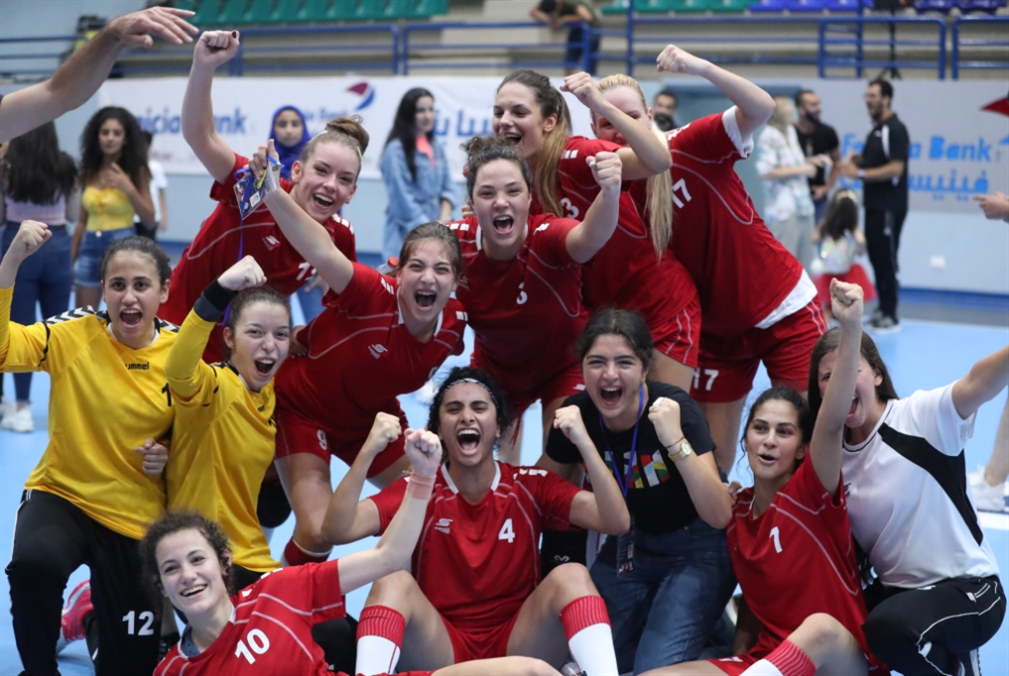 شابات لبنان إلى بطولة العالم
