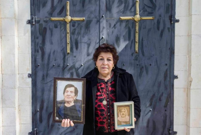 بعد 71 عاماً على النكبة: سلوى قبطي تزور قبر والدها!