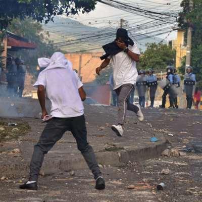 احتجاجات هندوراس تتوسّع: واشنطن قلقة على مكاسبها