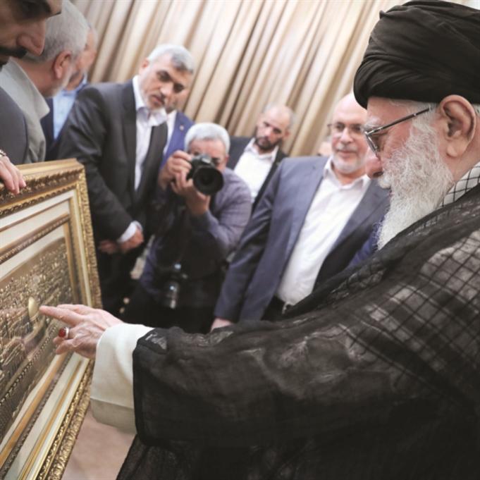«حماس» في طهران: معركة المصير الواحد