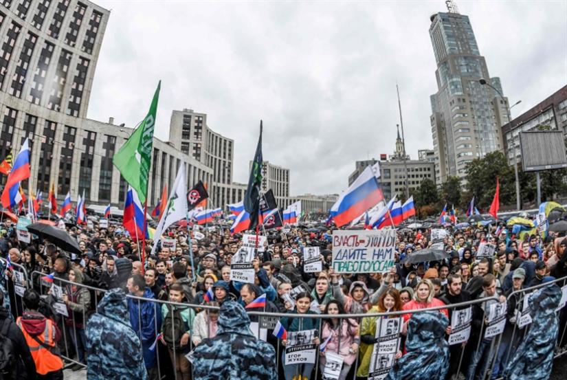 موسكو لا تعترف بـ«المعارضة غير النظامية»