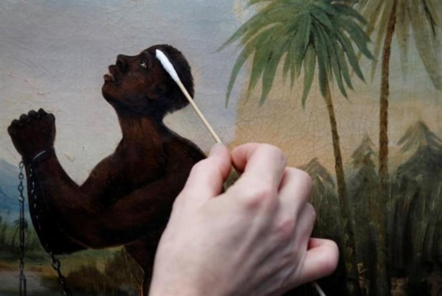 بريطانيا: ترميم لوحة نادرة عن العبودية
