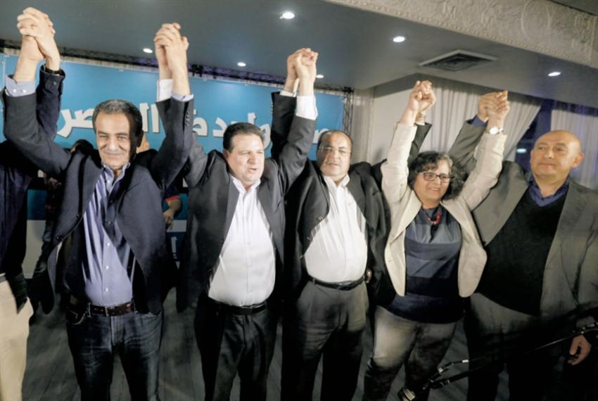 الانتخابات الإسرائيلية: رئيس «المشتركة» يُنظِّر للتحالف مع «جنرالات الحرب»!