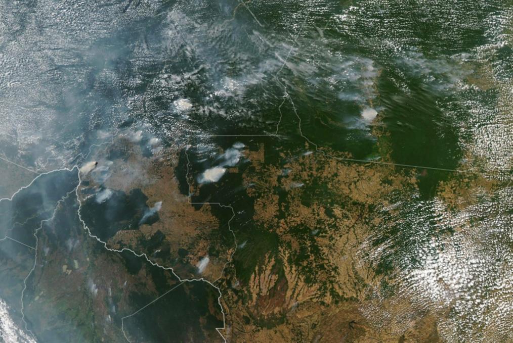 الأمازون: «نيرون» يخنق رئة العالم