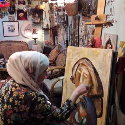 بيتٌ لفيروز في دمشق القديمة!