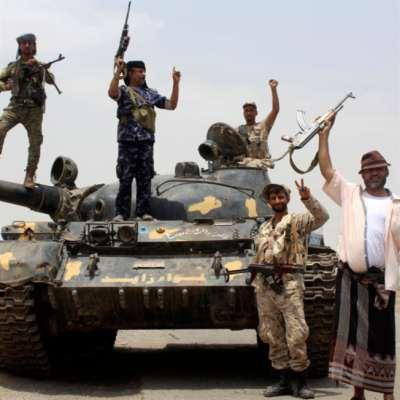 الإمارات تغير  على قوات هادي: السعودية تترك رجُلها جريحاً  في الميدان
