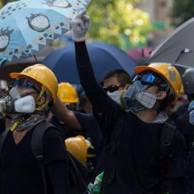 ثورة ملوّنة في هونغ كونغ