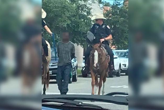 صورة شرطة تكساس تثير غضباً عارماً