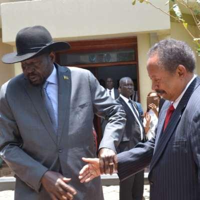 جوبا أولى محطات حمدوك الخارجية: اتفاق مع المسلحين على بدء التفاوض