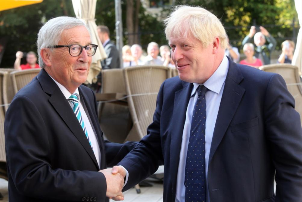 بريطانيا | يونكر بعد لقائه جونسون:  لم يُقدّم مقترحاً مرضياً بشأن اتفاق «بريكست» جديد