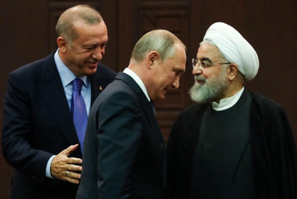 قمة أنقرة الثلاثية: أردوغان يعرض رؤيته لـ«المنطقة الآمنة»