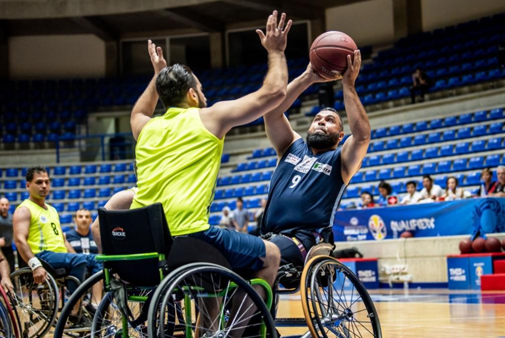 كرة السلة للكراسي المتحركة... عودة بعد 15 عاماً من الغياب
