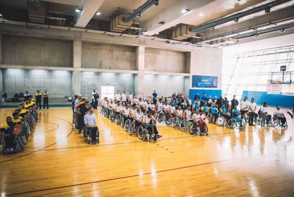 انطلاق بطولة كرة السلة للكراسي المتحرّكة