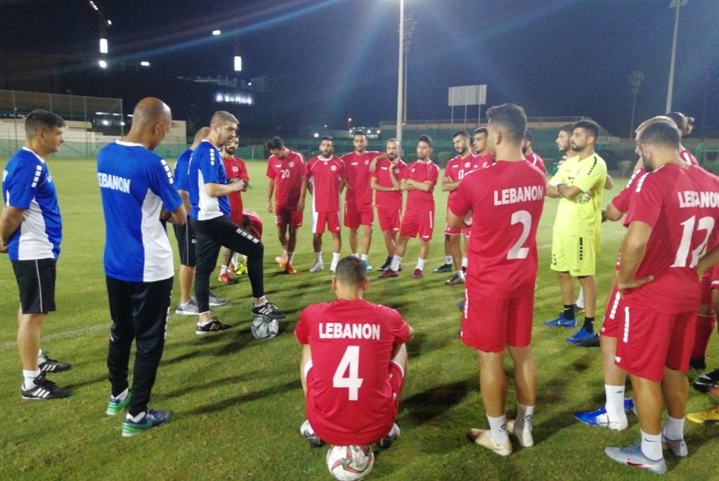 منتخب لبنان في مسقط للقاء عُمان ودياً